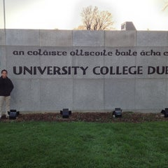 Photo taken at University College Dublin by Zayd Umair Z. on 1/9/2013