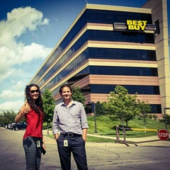 Photo taken at Best Buy Corporate HQ by B. Angie O. on 7/14/2015