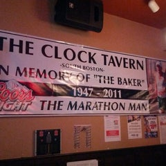 Photo taken at The Clock Tavern by Brian B. on 11/19/2012