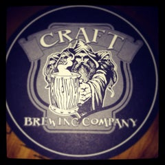 Photo taken at Craft Brewing Company by Velvet B. on 5/16/2014