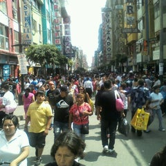 Photo taken at Gamarra by Eder S. on 12/20/2012