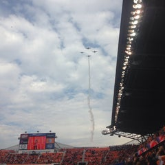 Photo taken at BBVA Compass Stadium by April G. on 11/9/2013