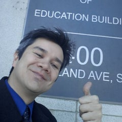 Photo taken at Lyndon Baines Johnson Department of Education Building by Xian B. on 1/27/2014