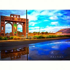 Photo taken at Taibah University | جامعة طيبة by Farhan M. on 12/5/2012