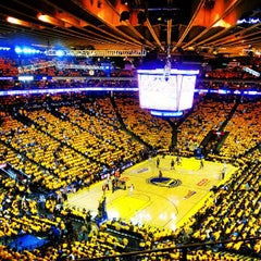 Photo taken at Oracle Arena by Jeffrey L. on 5/17/2013