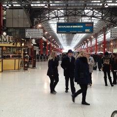 Photo taken at Platform 1 by Stuart H. on 2/12/2013