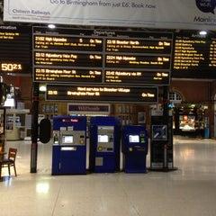 Photo taken at Platform 1 by Stuart H. on 5/2/2013