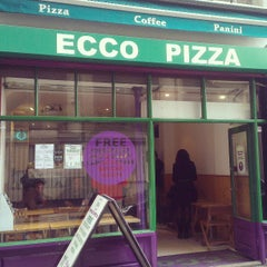 Photo taken at ECCo Pizza by Julio G. on 4/19/2013