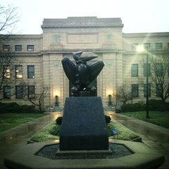 Photo taken at Strong Hall by Dustin P. on 4/2/2014