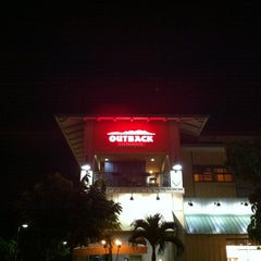 Photo taken at Outback Steakhouse by John Q. on 1/25/2013