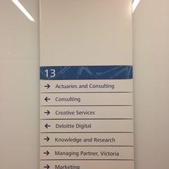 Photo taken at Deloitte by Stephen H. on 3/27/2014