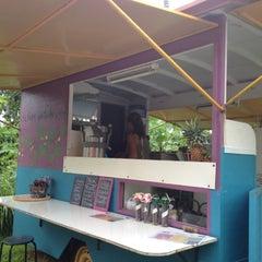 Photo taken at Lilikoi Garden Cafe by Jennifer P. on 2/5/2012