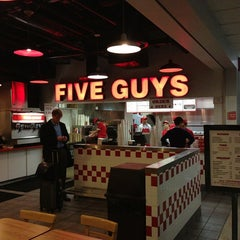 Photo taken at Five Guys by Dennis J. on 1/16/2013