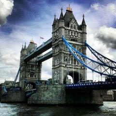 Photo taken at Tower Bridge by Derrick C. on 5/25/2013