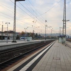 Photo taken at Bahnhof Bruchsal by Peter S. on 10/28/2012