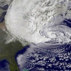 Photo taken at Frankenstorm Apocalypse - Hurricane Sandy by Stevo on 10/30/2012