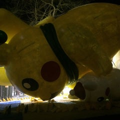 Photo taken at Macy's Parade Balloon Inflation by Emma C. on 11/26/2015