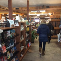 Photo taken at Bunch of Grapes Bookstore by Emma L. on 3/19/2014
