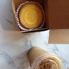 Photo taken at Côté France Café by Anna V. on 2/11/2014