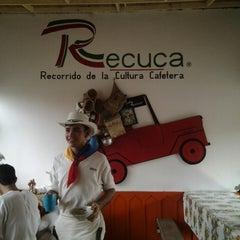 Photo taken at Recuca (Recorrido de la Cultura Cafetera) by Nataly S. on 3/28/2013