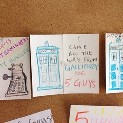 Photo taken at Five Guys by Eric S. on 9/14/2013