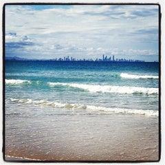 Photo taken at Coolangatta Beach by francesco e. on 10/30/2012