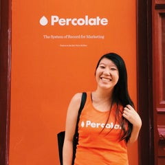 Photo taken at Percolate NYC by Jackie L. on 7/24/2015