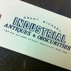 Photo taken at Grant Michael Industrial Antiques & Obscurities by Chris C. on 11/28/2012