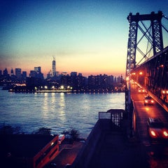 Photo taken at Williamsburg Bridge by Jim M. on 5/21/2013