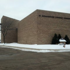 Photo taken at St Bonaventure Catholic Church by Jim C. on 2/26/2013