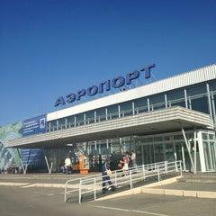 Photo taken at Международный аэропорт Большое Савино / Bolshoye Savino International Airport (PEE) by Роман М. on 5/29/2013