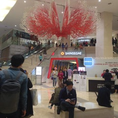 Photo taken at 센텀시티역 (Centum City Stn.) by Isaac Y. on 5/5/2014
