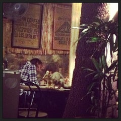 Photo taken at Three Monkeys Coffee & Tea House by Rachel S. on 5/26/2013