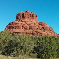Photo taken at Sedona Red Rocks by Matthew L. on 10/1/2013