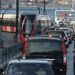 Photo taken at Sirkeci Tramvay Durağı by Navarat Tomi L. on 5/5/2013