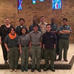 Photo taken at Saint Rita's Catholic Church by Jane F. on 2/16/2014