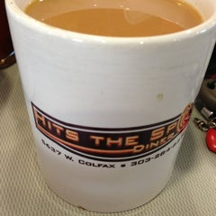 Photo taken at Hits The Spot Diner by Ali W. on 1/17/2013