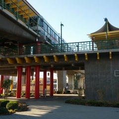 Photo taken at Metro Gold Line - Chinatown Station by Corey P. on 10/19/2012