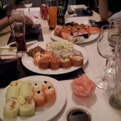 Photo taken at Active Sushi by Liall J. on 11/21/2012