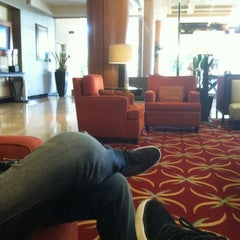 Photo taken at Torrance Marriott South Bay by Marcelo H. on 10/26/2012