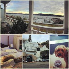 Photo taken at Casa Madrona Hotel & Spa by Elisa C. on 11/16/2014