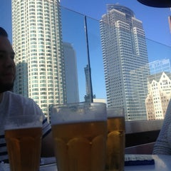 Photo taken at The Biergarten at The Standard, Downtown LA by Carolina H. on 8/1/2013