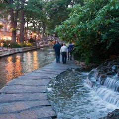 Photo taken at The San Antonio River Walk by Kevin S. on 6/24/2013