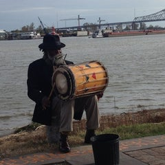 Photo taken at The Mississippi River by Stan H. on 12/23/2012