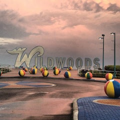 "Photo taken at ""Wildwoods"" Sign by Girl Gone Travel on 6/15/2013"