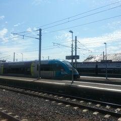 Photo taken at Gare SNCF de La Roche-sur-Yon by Marina T. on 8/3/2014