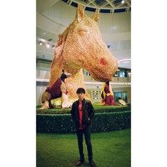 Photo taken at Civic Square 演薈廣場 by IVAN K. on 2/1/2014