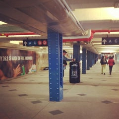 Photo taken at MTA Subway - 59th St/Columbus Circle (A/B/C/D/1) by darnisha b. on 10/28/2012