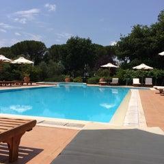Photo taken at Relais Villa Acquaviva by Vizio on 6/20/2015