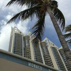 Photo taken at Monaco Beach Resort by Márcia C. on 3/12/2013